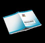 Broschüre mit Umschlag