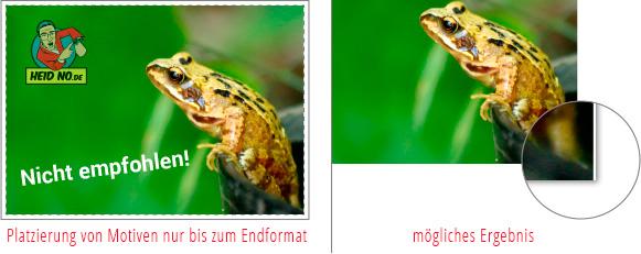 Beispiel für Bildelemente ohne Bildanschnitt